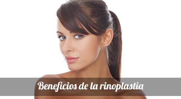 Beneficios de la rinoplastia
