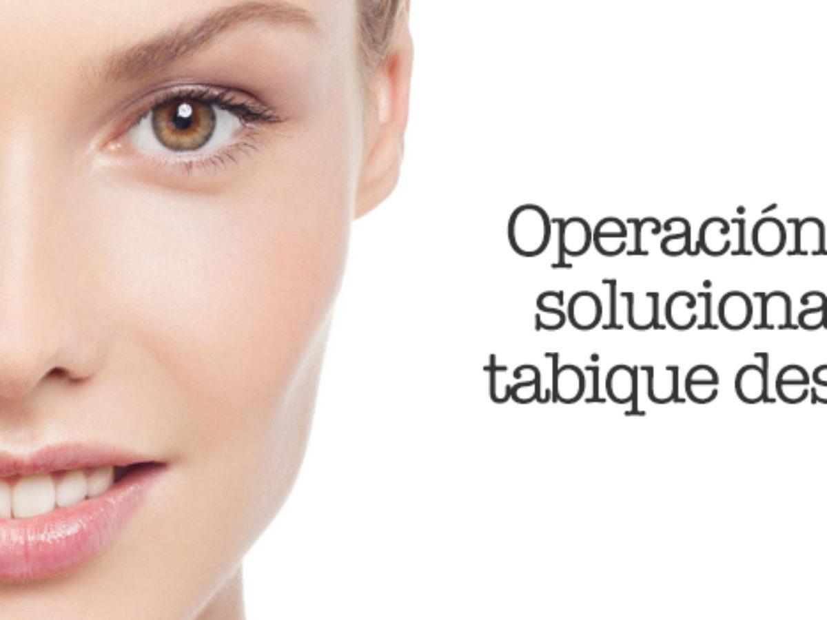 cirugia de nariz tabique torcido