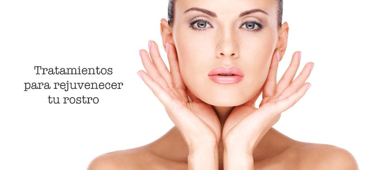 tratamiento de rejuvenecimiento facial