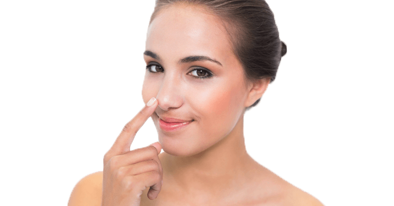 Rinoplastia para una punta de nariz caída