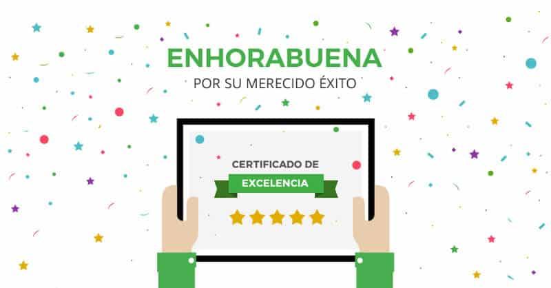 Certificado de Excelencia Doctoralia 2017